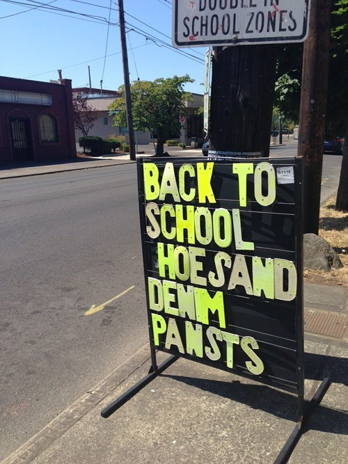 shoes,hoes,back to school,spelling