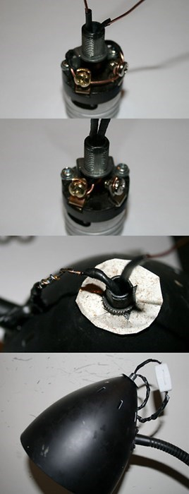 lamp wiring there I fixed it DIY - 7720017152