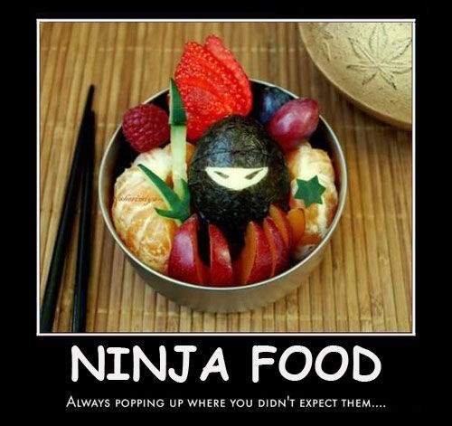 healthy,ninjas,food,funny