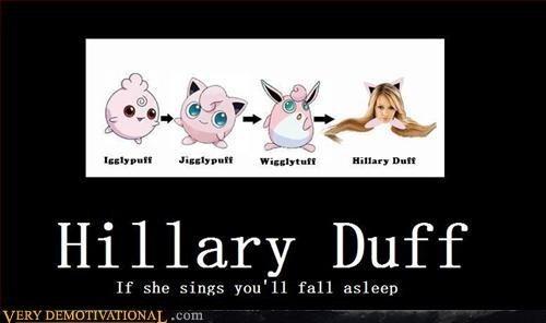 hillary duff sleep idiots funny - 7720140544