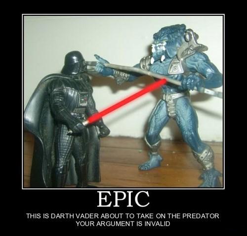 wtf star wars pee Predator funny darth vader - 7720173568