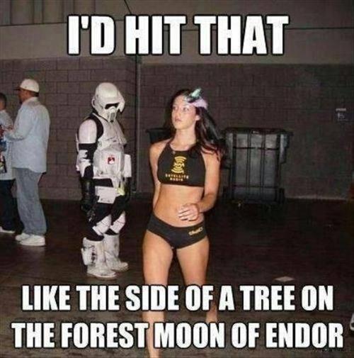 Star wars pick up lines meme