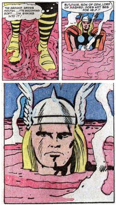 Thor marvel off the page - 7720211968