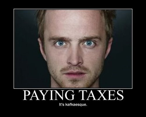 breaking bad taxes TV funny - 7720261120