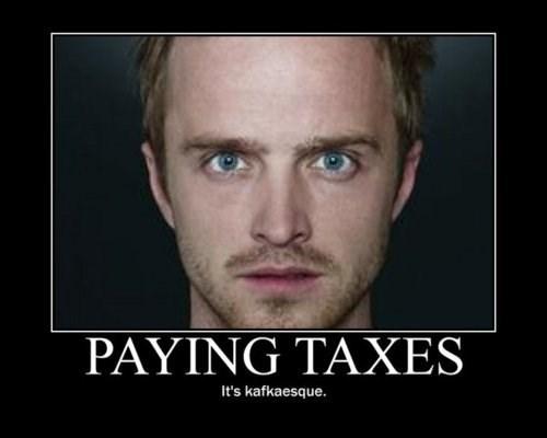 breaking bad taxes TV funny - 7720261120