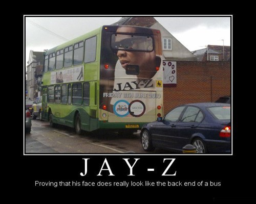 advertising Music funny bus Jay Z - 7720287232