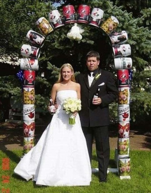 wtf,wedding,funny,keg