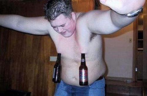 bottle beer nips funny - 7720536064