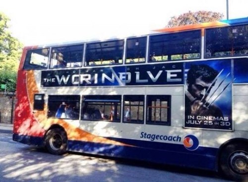 advertisement genius spelling wolverine funny - 7720560896