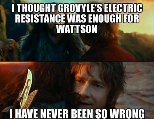 grovlye wattson The Hobbit Memes - 7720625152