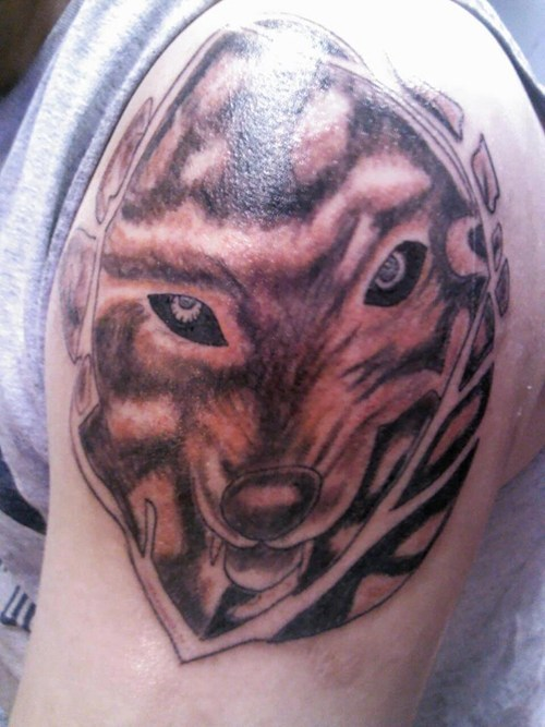 wolves bad tattoos funny - 7720677120