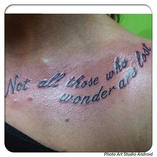 quotes tattoos misspelling funny - 7721111808