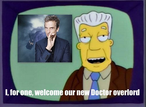 12th Doctor doctor who the simpsons - 7721752320