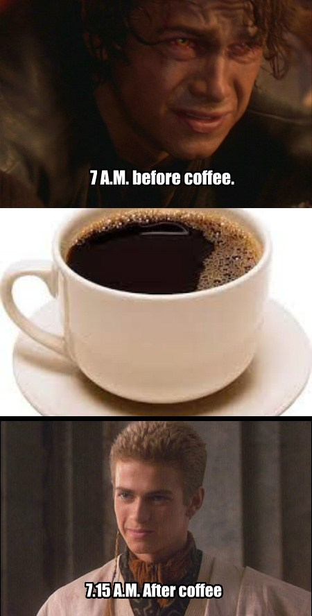star wars,sad but true,coffee,funny