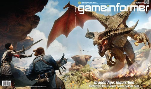 Video Game Coverage Dragon Age: Inquisition game informer - 7722012928