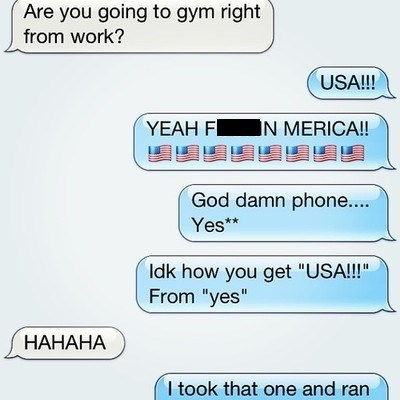 autocorrect murica text funny - 7722077696