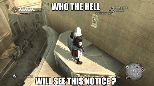 assassins creed,video game logic