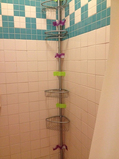duct tape,funny,there I fixed it,shower