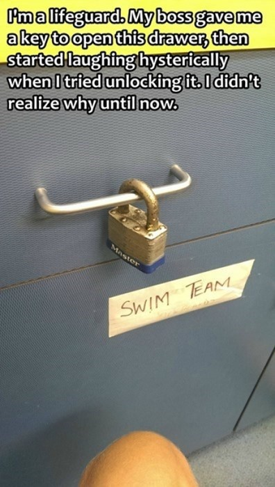 security drawer there I fixed it padlock funny g rated