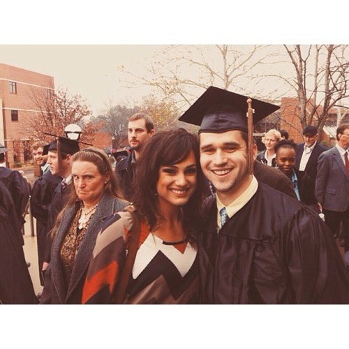 photobomb,graduation,disapproval,funny