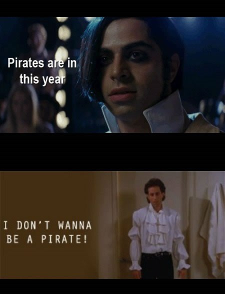 fashion,jerry seinfeld,pirates,funny