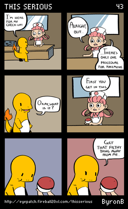 Pokémon Pokeballs comics charmander