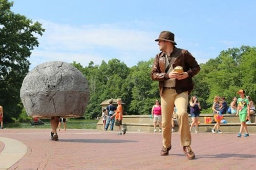 cosplay Indiana Jones funny g rated win - 7722436096