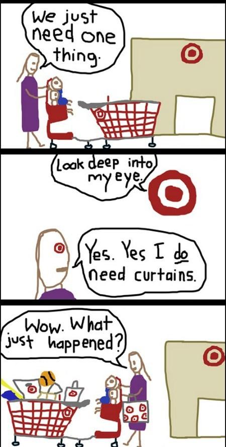 shopping,hypnotism,Target,funny