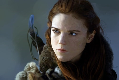 Game of Thrones ygritte Fan Art - 7722489344