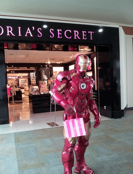 cosplay victorias secret IRL iron man - 7722519808
