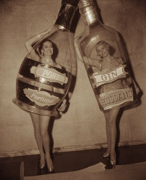 Those Ladies Really Ended Up in the Bottle