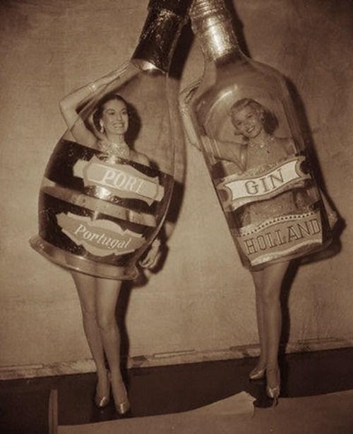 bottle port costume gin funny - 7722724608