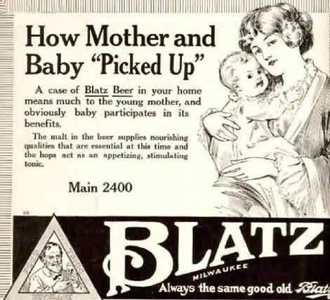 beer baby mother advertisements funny - 7722795776
