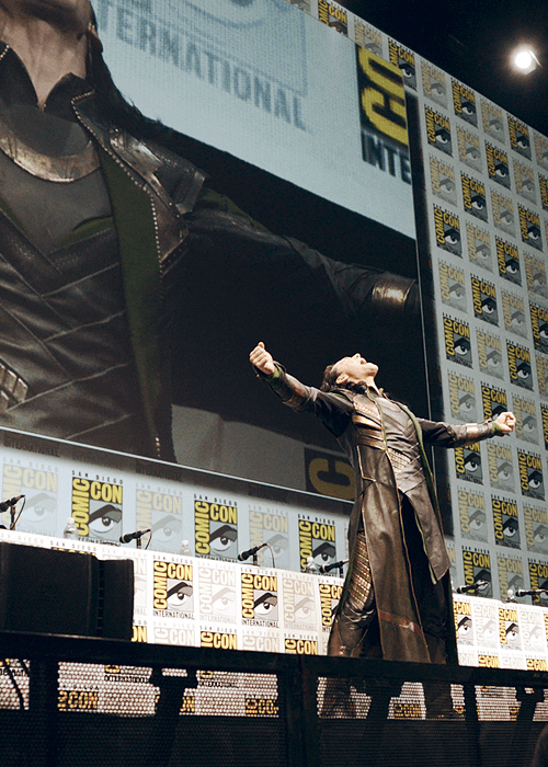 loki,tom hiddleston,sdcc 2013