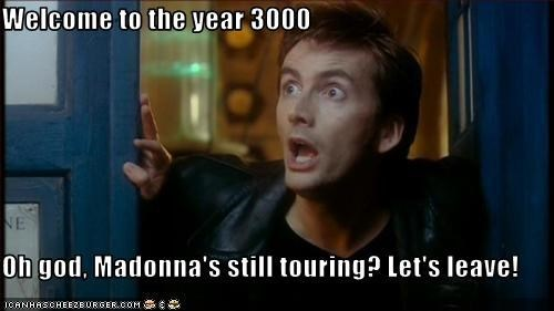 year 3000 dr touring Madonna