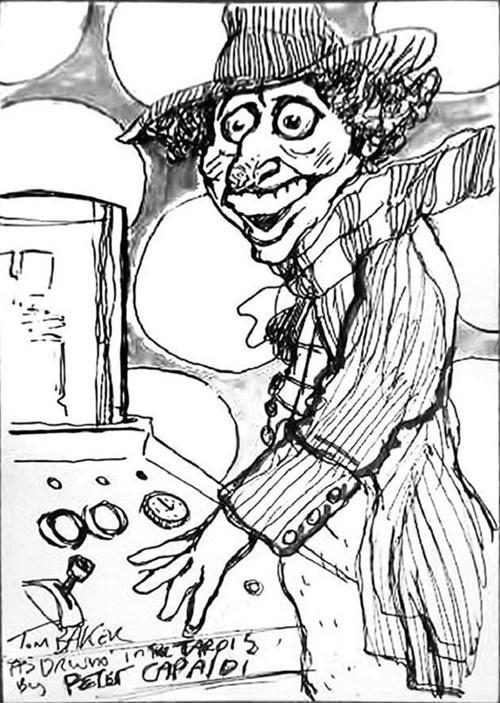 Peter Capaldi Fan Art doctor who - 7723652608