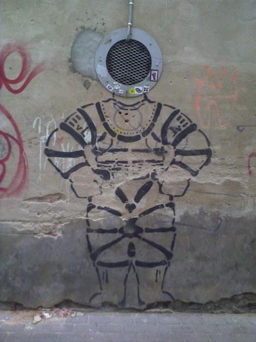 Street Art graffiti hacked irl funny - 7723968256