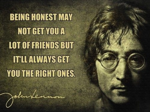 john lennon,wisdom,friends