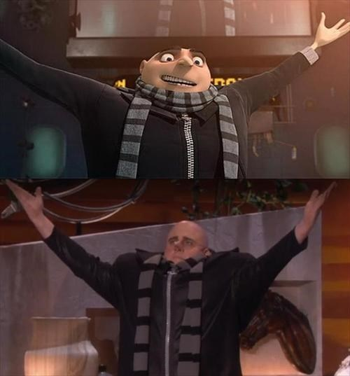 despicable me,gru,open arms