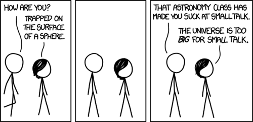 Astronomy xkcd science funny - 7724279808