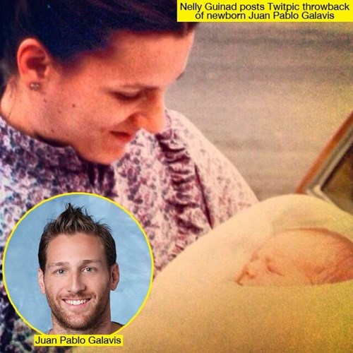 the bachelor,baby photo,parenting,juan pablo galavis