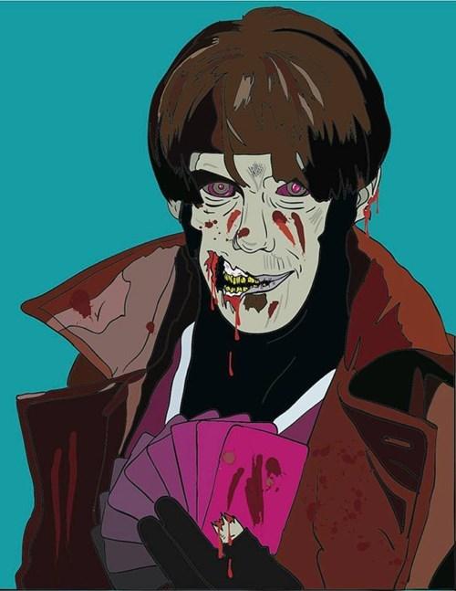 x men for sale gambit zombie - 7724530176