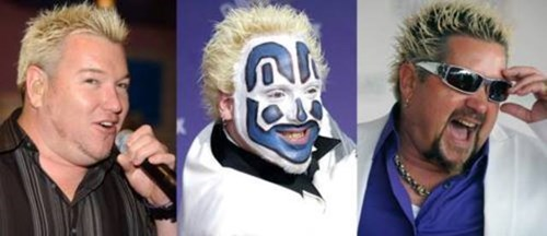 ICP,Guy Fieri,violent j,totally looks like,smashmouth,funny