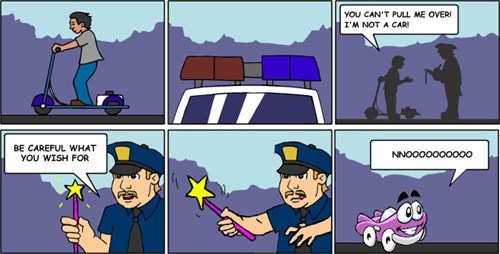 cops,wishes,funny,magic