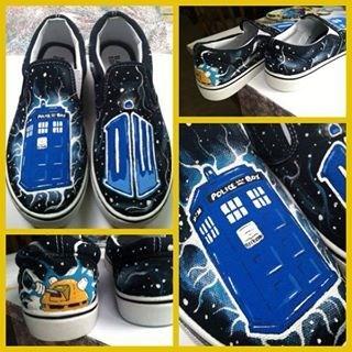 shoes Fan Art doctor who - 7724831744