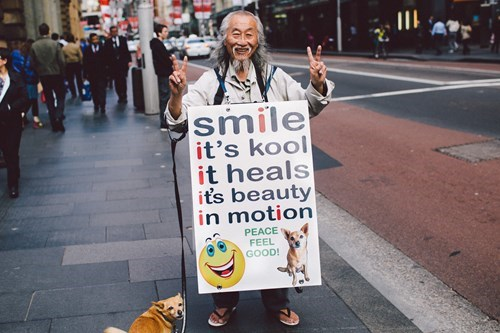 random act of kindness sign restoring faith in humanity week funny - 7724898048