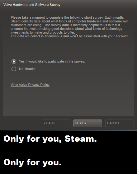 steam valve software funny survey