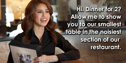 date server restaurant funny