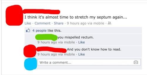 rectum,septum,piercings