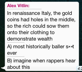 Italy rappers gold coins wealth